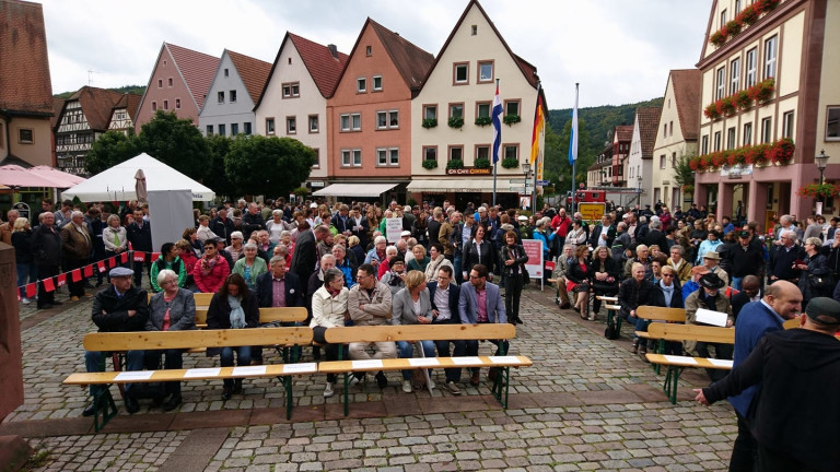 Besuch von Sigmar Gabriel in Gemünden1