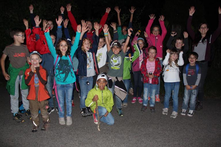 Ferienspaßprogramm 2015 - Nachtwanderung